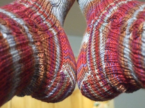 Finished Cable Rib Socks (5)