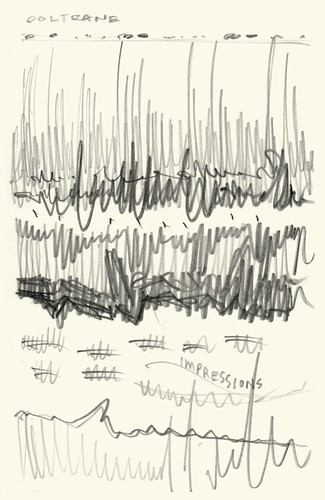John Coltrane: Impressions Sketch