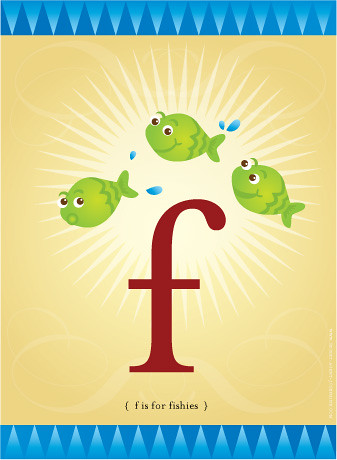 little f is for little fishies