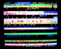 Teletext glitch art (3) (Dan Farrimond) Tags: art glitch teletext ceefax