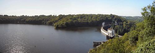 Panorama du barrage d'Eguzon