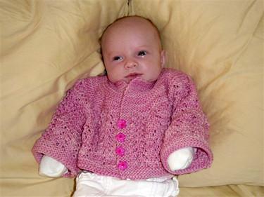 Helena's February Baby Jacket