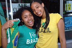 Happy Girls! (austinhk) Tags: world africa girls brazil canada black hot sexy cup brasil southafrica happy photo dance football bresil montréal image quebec montreal fifa flag soccer south crowd watching picture smiles images flags wm menschen tournament wc québec babes vs fans cheer worldcup monde coupe crowds ebony fever versus 2010 cotedivoire ivorycoast coupedumonde copadelmundo austinhk austink worldcupfans copamundo coupdumonde fifaworldcup2010 worldcup2010 coupedumonde2010 worldcup2010insouthafrica