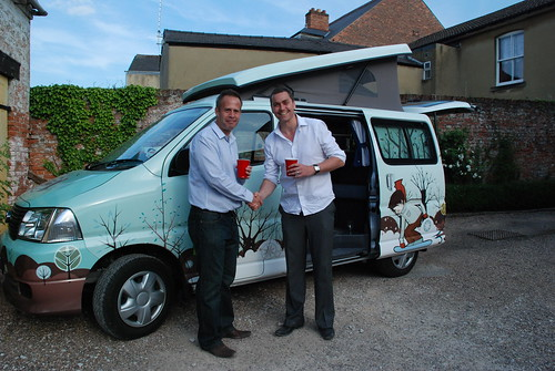 Ian Winfield - Winner of a weekend away in the Ginger King Campers