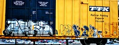IMG_5974 (mightyquinninwky) Tags: railroad graffiti tag graf tracks railway tags tagged railcar rails boxcar graff graphiti freight trainart fr8 railart boxcarart freightart taggedboxcar paintedboxcar paintedrailcar taggedrailcar