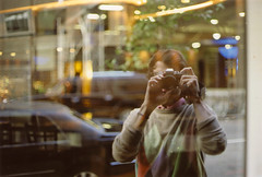 city self 2 (scott w. h. young) Tags: city light portrait reflection film window self 35mm