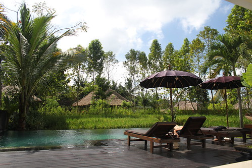 our private pool at Kajane Mua villas, Ubud