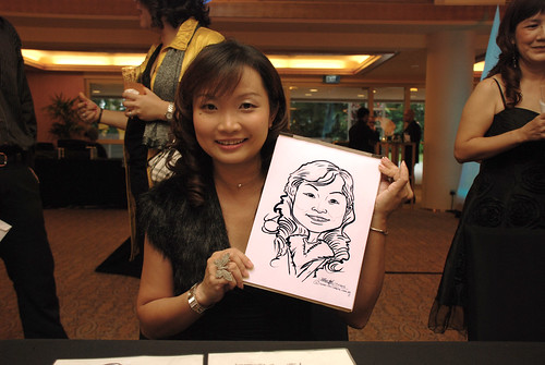 Caricature live sketching for Great Eastern D&D - 1