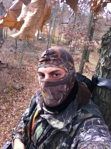 Trick or Treat? Im a Huntographer for Halloween whitetail deer hunting blog michigan deer hunting 2
