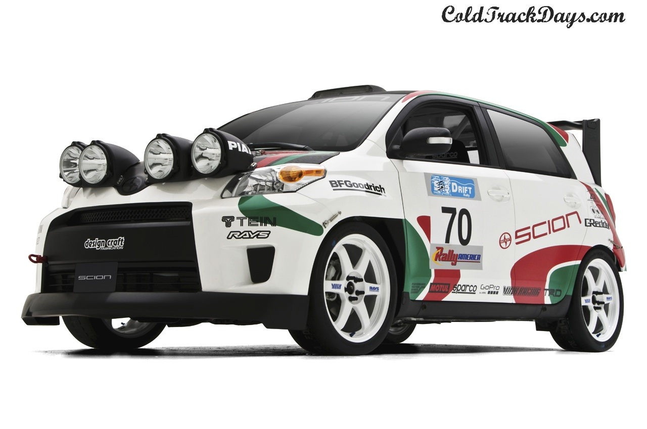 SEMA // 0-60 UNVEILS THEIR RALLY READY SCION xD
