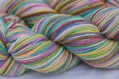 *sale* Hidden Garden on purewool 3-ply Merino Wool - 3.5 oz. (...a time to dye)