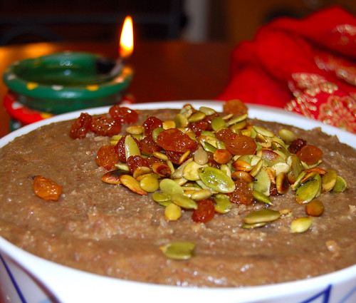 Vegan Almond Halwa