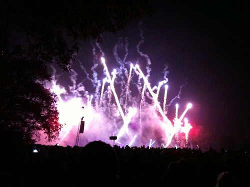 Alton Towers Fireworks 5/11/10
