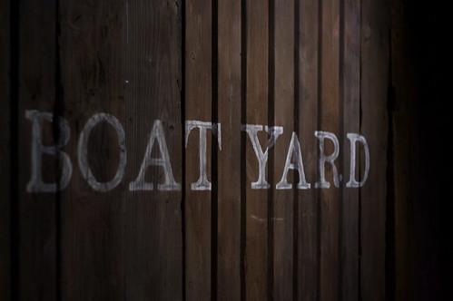 Boat Yard gate