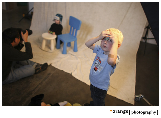 Babies Take Over the Orange Studio by orange photography
