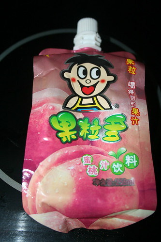 2010-11-07 - Shanghai - Junk food - 07 - Peach Juice packet