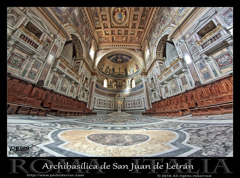 Roma - Archibasílica de San Juan de Letrán - Abside
