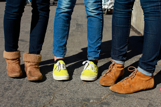 3jeans_shoes - pasadena street fashion style