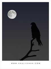 Blue moon (khalilshah) Tags: blue pakistan moon alone sad location wait punjab questfortherest multan impressedbeauty
