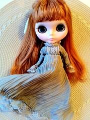 Dear Lele in her new dress