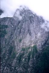 Kolos (Dru!) Tags: cloud mist canada green wet rain fog giant bc britishcolumbia gray rockface granite huge steep coastmountains kingcom