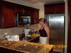 Gran Melia Villa Kitchen