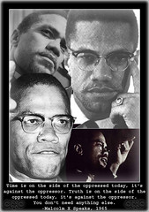 Malcolm_X_1 (seeavisioneternally) Tags: portrait art face collage see photo picture vision frame knowledge inspirational malcolmx eternally