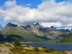 Lofoten, Norway (elosoenpersona) Tags: mountains norway canon europe powershot fjord lofoten montaas aplusphoto flickrdiamond elosoenpersona