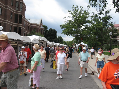 Ann Arbor Art Fair - S. University