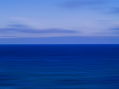 sea sky horizon #1 (Ando : @_AndoPerez) Tags: ocean blue sea sky blur horizon atlantic bluessecretrecipe dominantsblue justaddblue