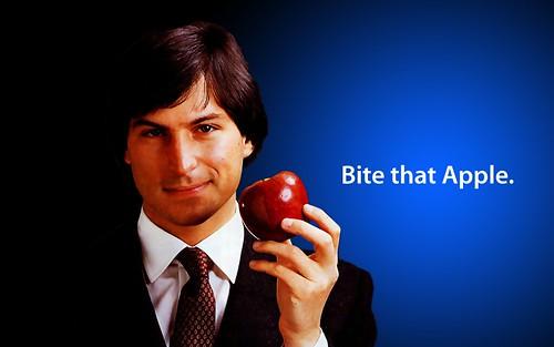 Bite That Apple Steve Jobs Desktop 2