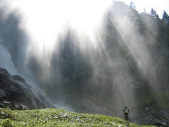 Shower under waterfall - by roberto.valentini