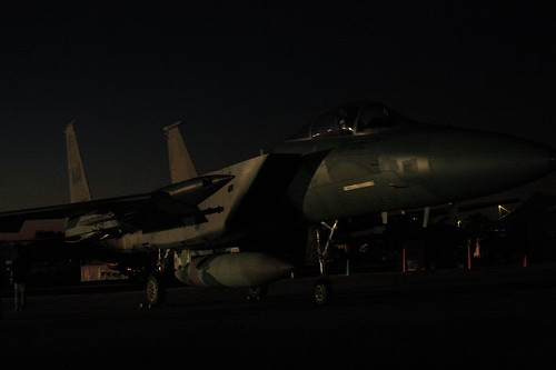 F-15 in the dark