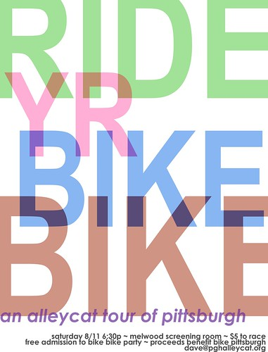 RIDE YR BIKE BIKE