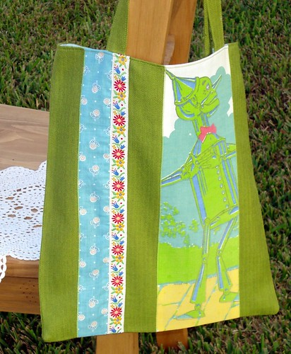 Go Green Tote Front by you.