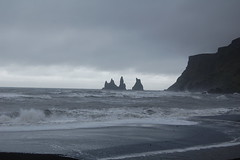 VIK (suicide tuesday) Tags: sea beach nature dark iceland mare natura spiaggia islanda