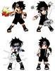sasuke_attacks_by_eiko_chan (misao_katsuragi) Tags: chibi naruto sasuke suna gaara akatsuki