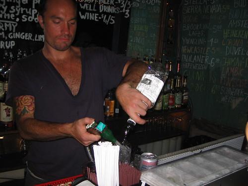 Fiore, my favorite bartender