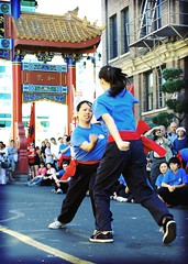 betty and clarin (CharlotteKinzie) Tags: chinatown chinese martialarts kungfu liondance liondancers hungfut eyedotting liondancings