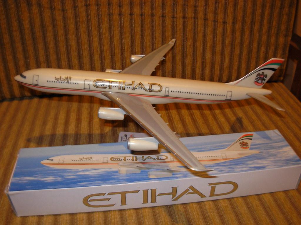 Etihad A340-300