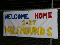Welcome Home 2-27 Wolfhounds