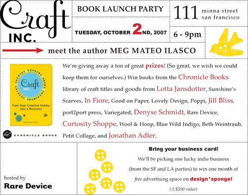 Craft Inc. book launch party