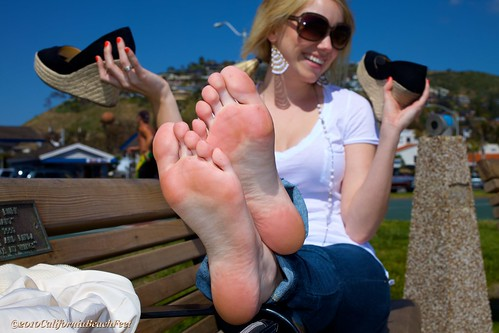 Sexy soles in the pose