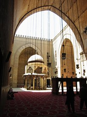 Masjid of Sultan Hassan     / Cairo / Egypt - 28 05 2010 (Ahmed Al.Badawy) Tags: architecture shots 05 egypt cairo sultan hassan 28 ahmed masjid islamic 2010   mamluk   albadawy hutect