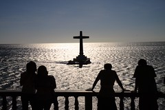 Sunken Cemetery (julesnene) Tags: travel graveyard fun island philippines camiguin gravestones mindanao sunkencemetery misamisoriental largecross julesnene juliasumangil uniquedivingspot
