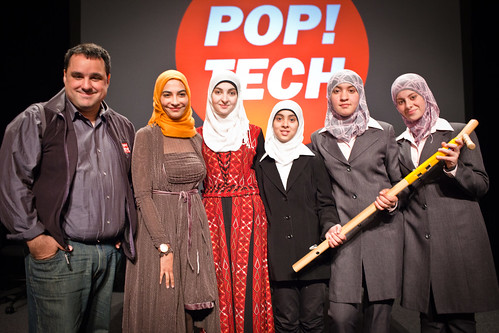 Andrew Zolli, Hayat Sindi, Jameela Khaled, Asil Shaar, Nour Al-Arda and Asil Abulil - PopTech 2010 - Camden, Maine