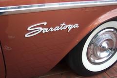 1957 Chrysler Saratoga (sv1ambo) Tags: 2005 bridge day display harbour saratoga sydney australia badge 1957 valiant pyrmont chrysler mopar darling association owners