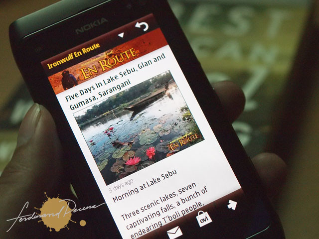 Get updated mobile site content