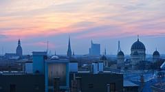 sunset (Riga) (©Andrey) Tags: sunset sony latvia explore riga lv nex город lettonie explored латвия рига lotva perfectescapes ilobsterit