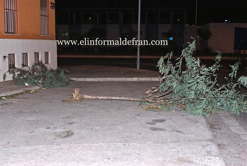 fuertes vientos Melilla